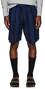 Saturdays NYC Men's Keigo Striped Shorts-Blue