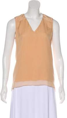 Reed Krakoff Silk Sleeveless Top