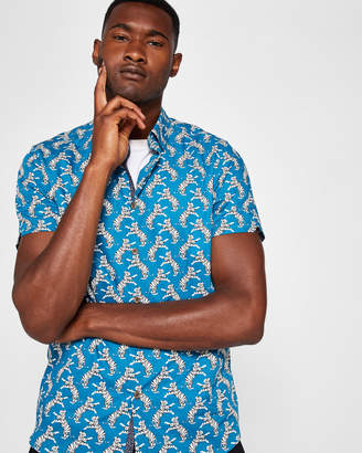 Ted Baker ROARED Tiger print shirt