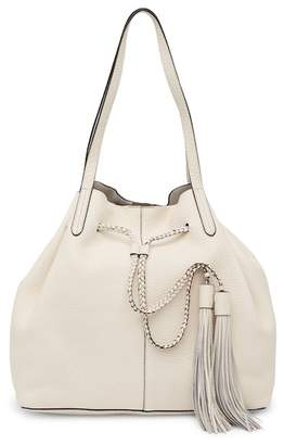 Rebecca Minkoff Unlined Leather Drawstring Tote Bag