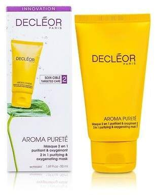 Decleor NEW Aroma Purete 2 in 1 Purifying & Oxygenating Mask (Combination & 50ml