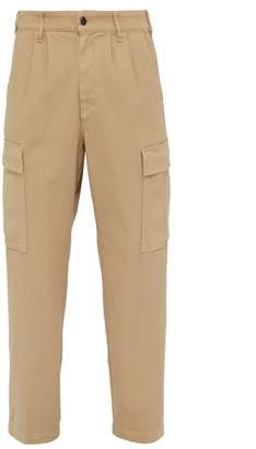 Barena Venezia - Rione Cotton Blend Cargo Trousers - Mens - Beige