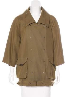 Eleven Paris ElevenParis Casual Double-Breasted Jacket