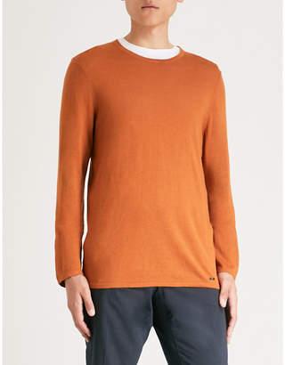 HUGO Bouclé knitted jumper