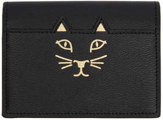 Charlotte Olympia (シャーロット オリンピア) - Charlotte Olympia ブラック Feline カード ウォレット