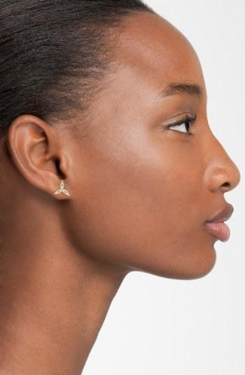 Mizuki 'Sea of Beauty' Diamond Stud Earrings