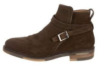 Salvatore Ferragamo Madison Jodhpur Ankle Boots