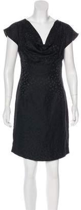 Loeffler Randall Printed Silk Dress