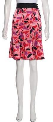 Marc Jacobs Silk Mini Skirt