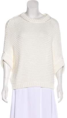 Massimo Dutti Dolman Rib Knit Sweater