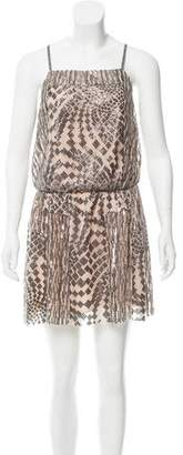 Anna Sui Sequin-Embellished Mini Dress