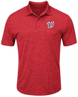 Majestic Men Washington Nationals First Hit Polo Shirt