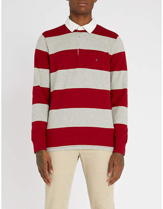 Tommy Hilfiger Striped cotton-jersey rugby shirt