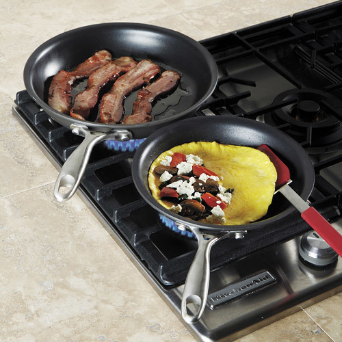 Chefs Hard Anodized Fry Pan Set