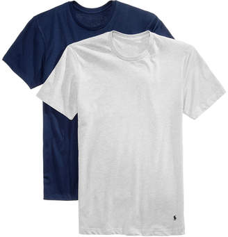 Polo Ralph Lauren Men's Ultra-Soft Cotton Comfort 2 Pack Undershirts