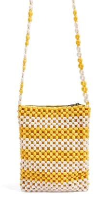 Topshop Beaded Crossbody Bag