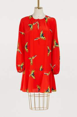 Diane von Furstenberg Long sleeved short dress