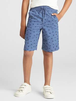 Gap Print Pull-On Shorts