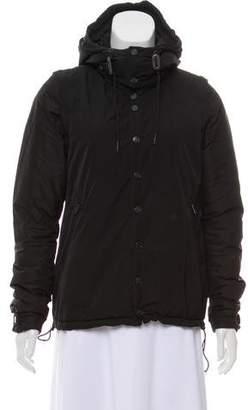 Y-3 Hooded Puffer Coat