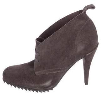 Pedro Garcia Suede High Heel Boots