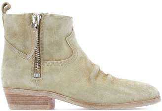 Golden Goose Zipped Ankle Boots