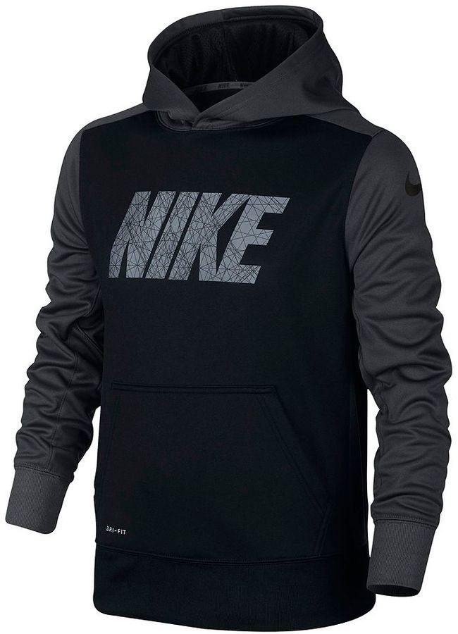 Boys 8-20 Nike KO Logo Fleece Hoodie
