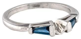 Ring Platinum Sapphire Wedding Band