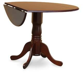 Charlton Home Pappalardo Small Table 3 Piece Drop Leaf Solid Wood Breakfast Nook Dining Set Charlton Home