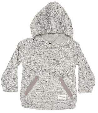 Rip Curl New Boys Tots Boys Crescent Hoodie Cotton Polyester Grey