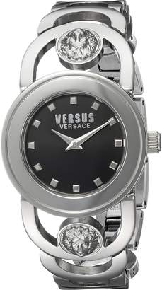 Versus By Versace Women's 'CARNABY STREET' Quartz Stainless Steel and Gold Plated Casual Watch(Model: SCG080016)