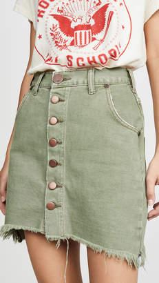 One Teaspoon Super Viper High Waist Skirt