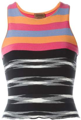 Missoni PRE-OWNED striped tank top