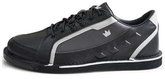 Brunswick Bowling Products Brunswick Mens Punisher Bowling Shoes Right Hand- Black/Silver 10 M US