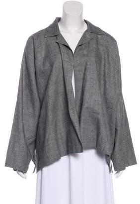 eskandar Wool-Blend Open Front Jacket w/ Tags