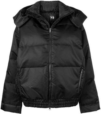 Y-3 short padded jacket
