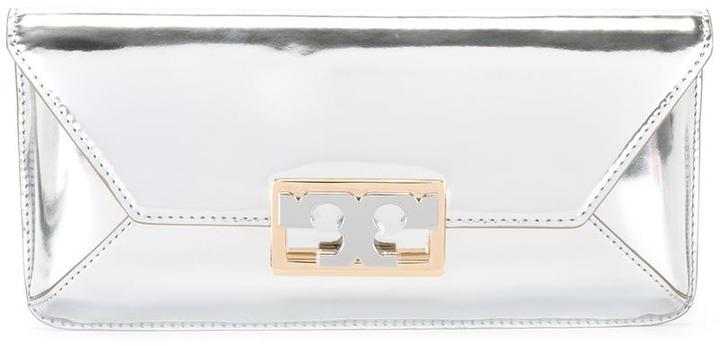 Tory Burch Tory Burch metallic clutch