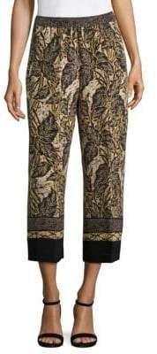 Sutton Printed Silk Pants