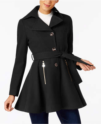 INC International Concepts I.n.c. Petite Skirted Walker Coat, Created at Macy's