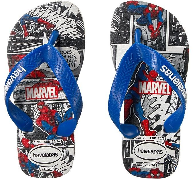 Havaianas Kids - Top Spiderman Sandals Boys Shoes