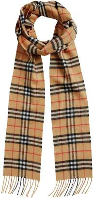 Burberry Long Skinny Vintage Checked Scarf