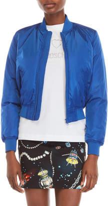Love Moschino Blue Bomber Jacket