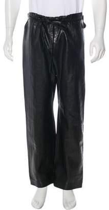 11daddf756950 Gucci 2001 Karung Snakeskin Leather Pants