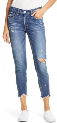 Moussy Vintage Glendele Ripped Crop Skinny Jeans