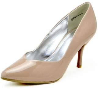 Bamboo Pointed Patent Pump $27 thestylecure.com