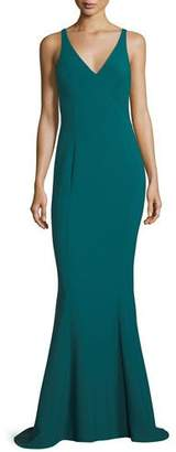LIKELY Elisas V-Neck Trumpet Gown