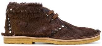 Prada studded detailing boots