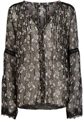 Paige Clio Sheer Blouse