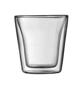 Bodum Canteen Double Wall Glasses 100Ml Set Of 2