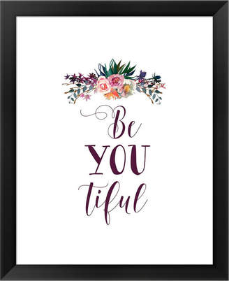 Flor Beyoutiful Dark By Tara Moss Framed Art