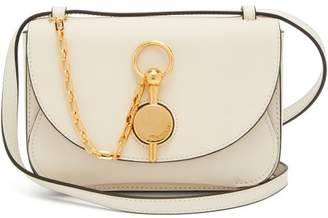 J.W.Anderson Keyts Leather Cross Body Bag - Womens - White